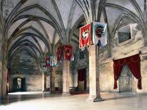 Castello di Hunedoara Fotografie Stock Libere da Diritti