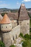 Castello di Huniad Fotografie Stock