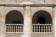 Castello di Huniazilor fotografie stock libere da diritti