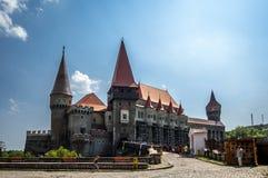 Castello di Hunyad Fotografia Stock Libera da Diritti