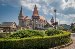Castello di Hunyad Immagini Stock