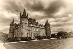 Castello di Inveraray in Scozia occidentale, Regno Unito Fotografie Stock