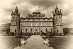 Castello di Inveraray in Scozia occidentale, Regno Unito Fotografia Stock