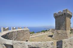 castello di Italy populonia Obraz Royalty Free