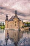 Castello di Jehay Fotografia Stock Libera da Diritti