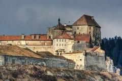 Castello di Joux Immagine Stock Libera da Diritti