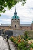 Castello di Kalmar, Svezia fotografie stock libere da diritti