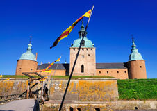 Castello di Kalmar, Svezia Fotografia Stock Libera da Diritti