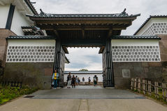 Castello di Kanazawa Immagini Stock