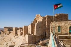 Castello di Karak Fotografie Stock Libere da Diritti
