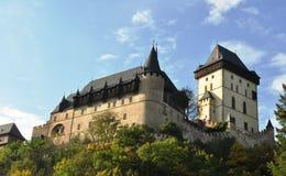 Castello di Karlštejn Immagini Stock Libere da Diritti