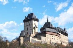 Castello di Karlstejn Immagine Stock Libera da Diritti