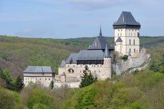 Castello di Karlstejn Fotografie Stock