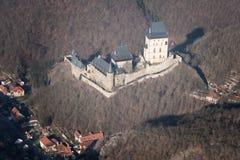 Castello di Karlstejn Immagine Stock