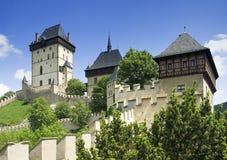 Castello di Karlstejn Fotografia Stock
