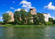 Castello di Kastelholm, Aland, Finlandia Immagini Stock Libere da Diritti