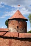 Castello di Kaunas Fotografie Stock