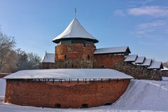 Castello di Kaunas, Lituania immagine stock libera da diritti
