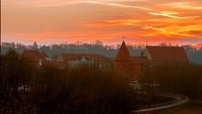 Castello di Kaunas (Lituania) immagini stock