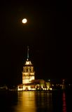 Castello di Kaz Kulesi Fotografia Stock Libera da Diritti