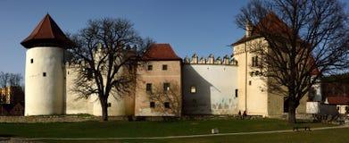 Castello di Kezmarok Fotografia Stock