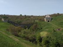 Castello di Khotyn Fotografie Stock Libere da Diritti