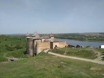 Castello di Khotyn Immagine Stock