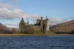 Castello di Kilchurn, timore del lago, Scozia Fotografia Stock