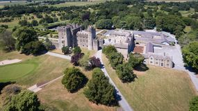 Castello di Kilkea Castledermot contea Kildare l'irlanda immagini stock libere da diritti