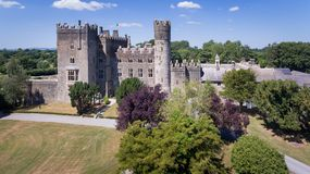 Castello di Kilkea Castledermot contea Kildare l'irlanda fotografia stock