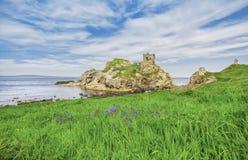 Castello di Kinbane fotografie stock libere da diritti