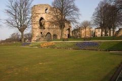 Castello di Knaresborough, Fotografie Stock