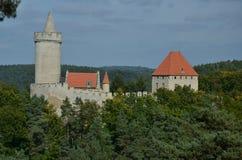Castello di Kokorin Fotografia Stock Libera da Diritti