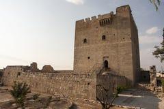 Castello di Kolossi Fotografia Stock Libera da Diritti