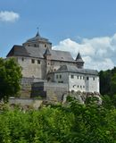 Castello di Kost su una roccia Fotografia Stock Libera da Diritti