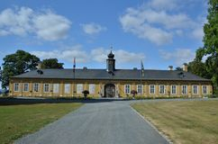 Castello di Kozel di caccia vicino a Rokycany Fotografie Stock