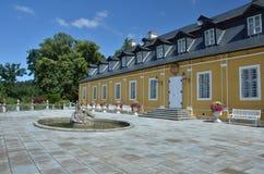 Castello di Kozel nella regione di Plzen Fotografie Stock
