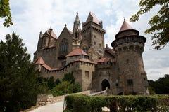 Castello di Kreuzenstein Fotografie Stock Libere da Diritti