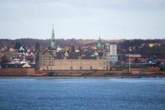 Castello di Kronborg Fotografie Stock Libere da Diritti