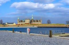 Castello di Kronborg in Danimarca Fotografie Stock