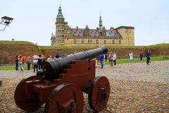 Castello di Kronborg, Danimarca Immagine Stock