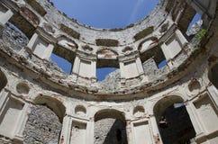 Castello di Krzyztopor Fotografia Stock Libera da Diritti