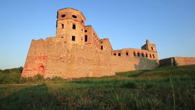 Castello di Krzyztopor vicino a Opatow, Polonia, Europa stock footage