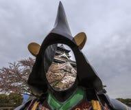 Castello 3 di Kumamoto Fotografie Stock Libere da Diritti