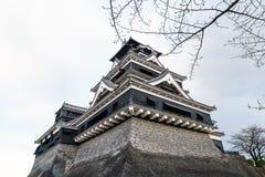 Castello di Kumamoto immagine stock