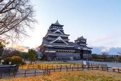 Castello di Kumamoto fotografia stock libera da diritti