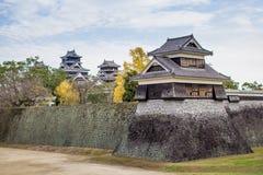 Castello di Kumamoto Immagini Stock Libere da Diritti