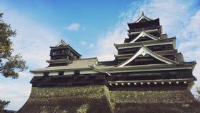 Castello di Kumamoto fotografie stock