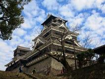 Castello di Kumamoto fotografie stock libere da diritti