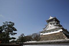 Castello di Kumamoto del giapponese Fotografia Stock